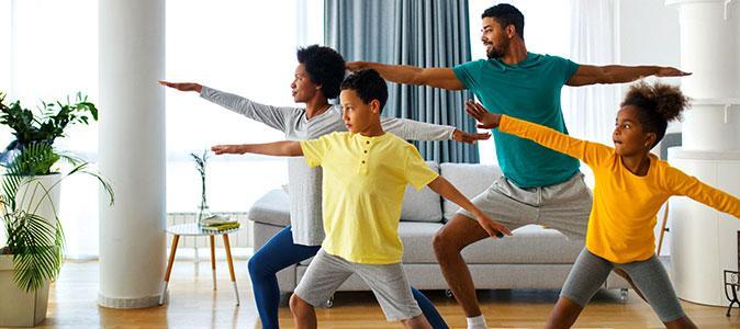 Atividade física para crianças e adolescentes em tempos de pandemia