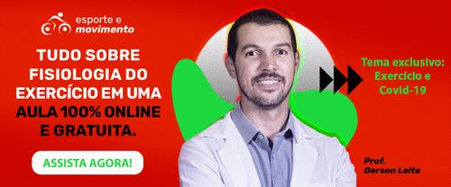 ASSISTA AGORA A AULA ONLINE DE FISIOLOGIA DO EXERCÍCIO