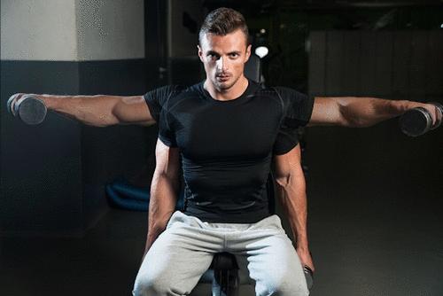 Varie as cargas de treinamento apenas com o peso corporal